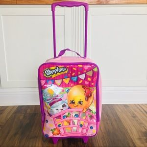 Girls Shopkins Rolling Travel Bag